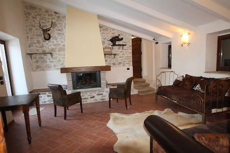 A stone walling Villa near Rome - Scandriglia - 別墅