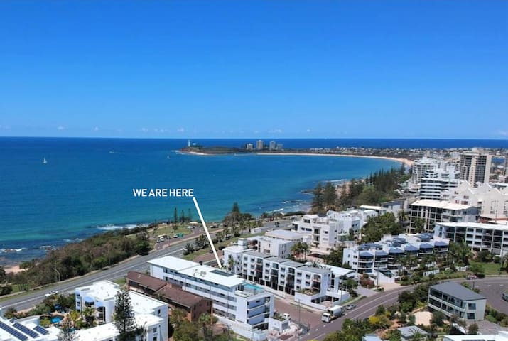 Beachfront Alex-Mooloolaba ~ Unbeatable Location