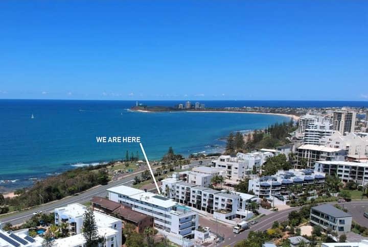 Beachfront Alex-Mooloolaba ~ Unbeatable Location