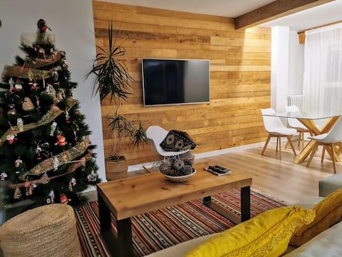 Oroel, apartamento recién reformado y con vistas