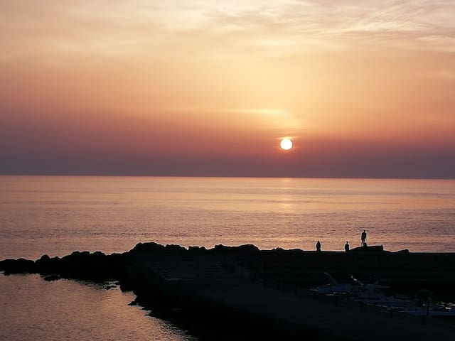 """""""Casa Porta D'Oriente"""" 50 m dal mare con vista mar"""
