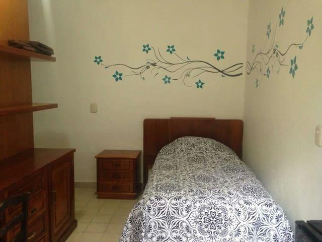 Recámara en el centro de Oaxaca