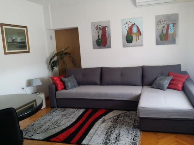 Two bedroom apartment with terrace and sea view Senj (A-16008-a)