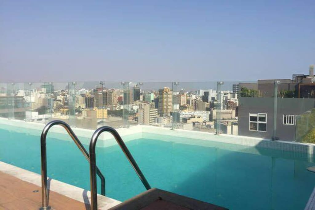Sky view from Pool on Top Floor