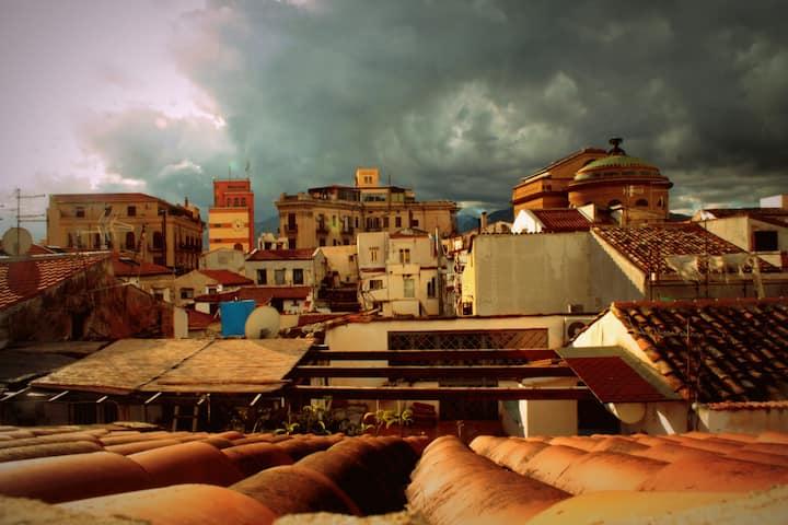 Mansarda nel cuore di Palermo
