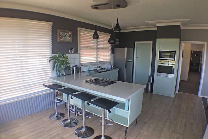 Retro kitchen, largely original