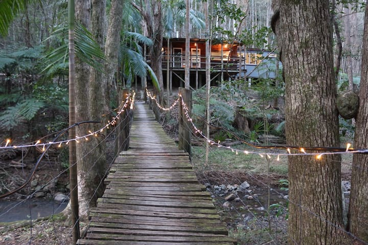 Secluded Magical Rainforest Retreat - Main Arm - Kulübe