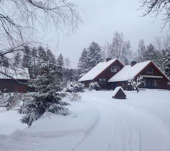 Landlig idyll i vakre omgivelser - Elverum - Hús
