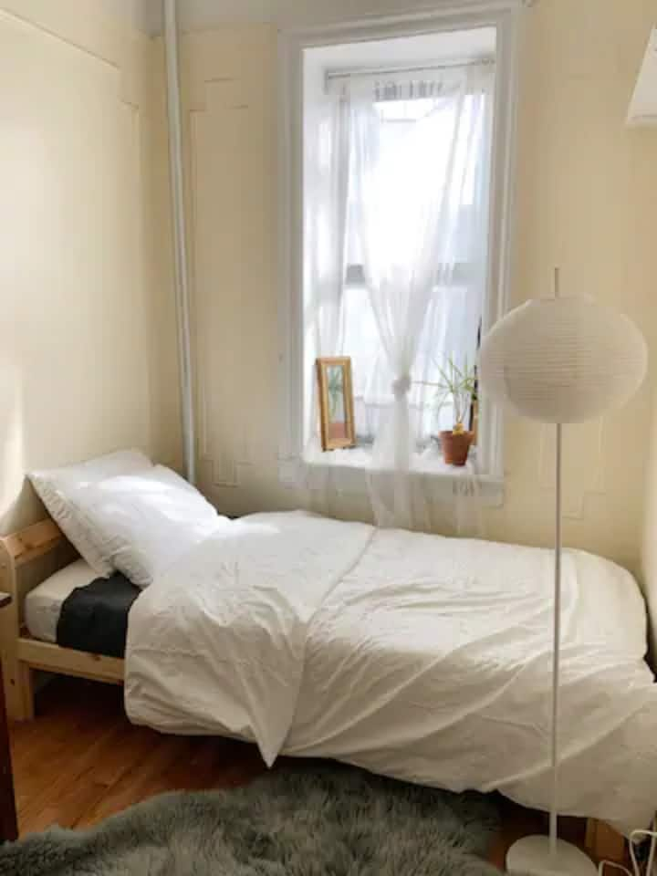 Private Sunny Room in Heart of Williamsburg