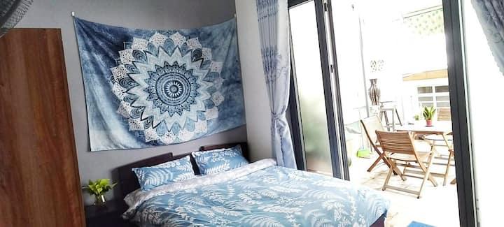 Queen Room in Central Cozy Homestay Linterna