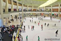 Nearby: Ice Skating rink IOI City Mall (pic from Google Image)