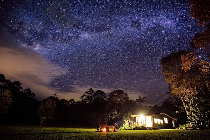 Nightcap Ridge - Byron Bay Hinterland - Whian Whian - กระท่อม