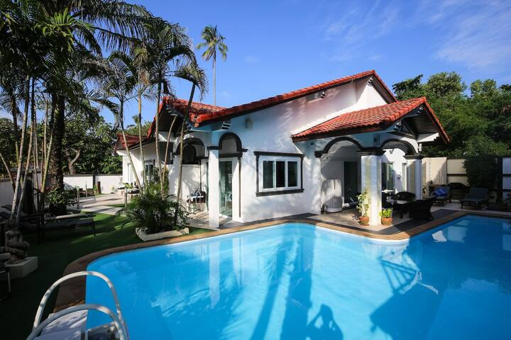 5BR Villa in Fiherman's - 2 mins walk to beach - Ko Samui - Villa