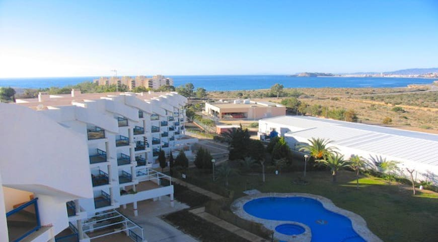 Fabulous penthouse apartment with 360 deg views - Isla Plana - Apartamento