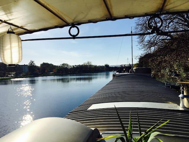 Chambre d'hôtes péniche avc sbd privative - Metz - Boat
