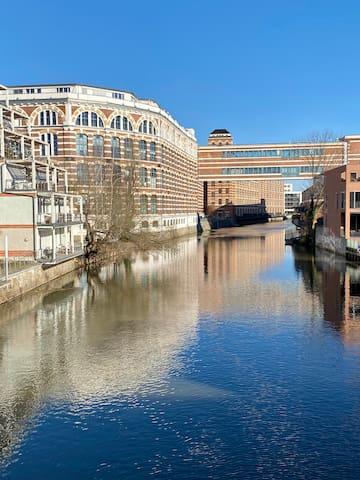 Wohnen im Loft am Wasser