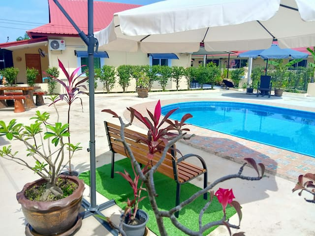 1 Bedroom Apartment, With Pool A/C  Phen district.