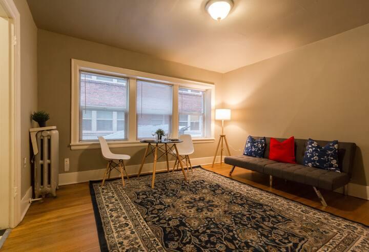 Cozy 1BR 1Bath | Airbnb Fees Paid For!