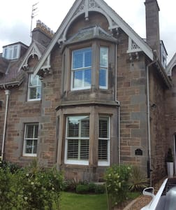 Small Double Room in Georgian House - North Berwick - Bed & Breakfast