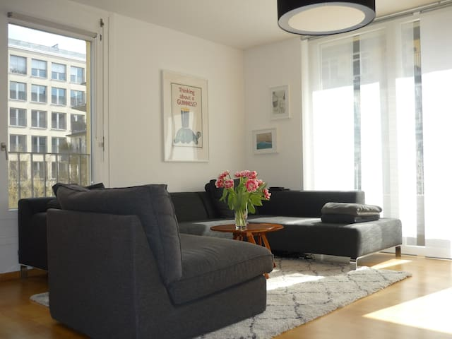 Central & right on the riverside - Frankfurt am Main - Apartment