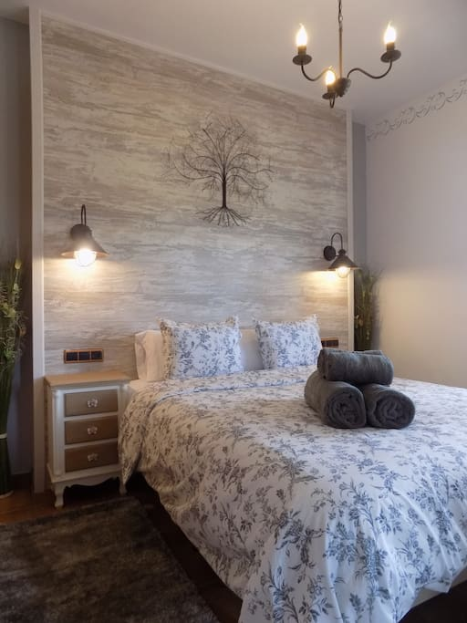 your comfortable double bedroom