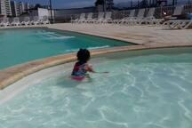 piscina para niños