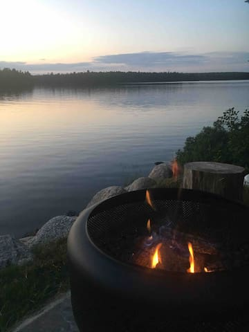 Evenings by the fire