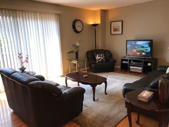 Beautiful 3 Bedrooms Unit By Downtown Libertyville