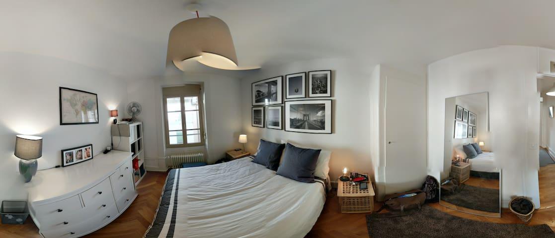 bedroom panorama
