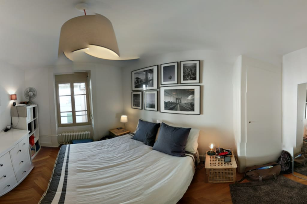 bedroom panorama