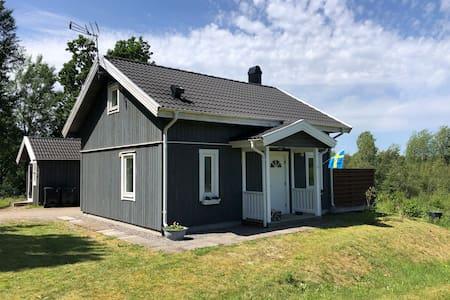 Modern cottage by lake and ski slope