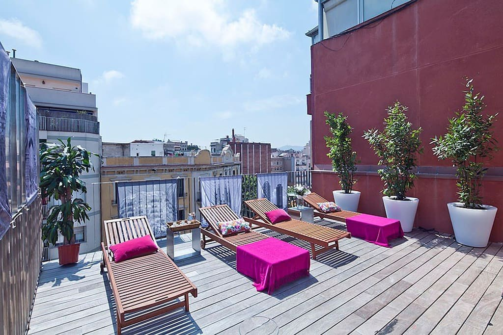 Rooftop Pool Apartment in Barcelona Center - Flats for ...