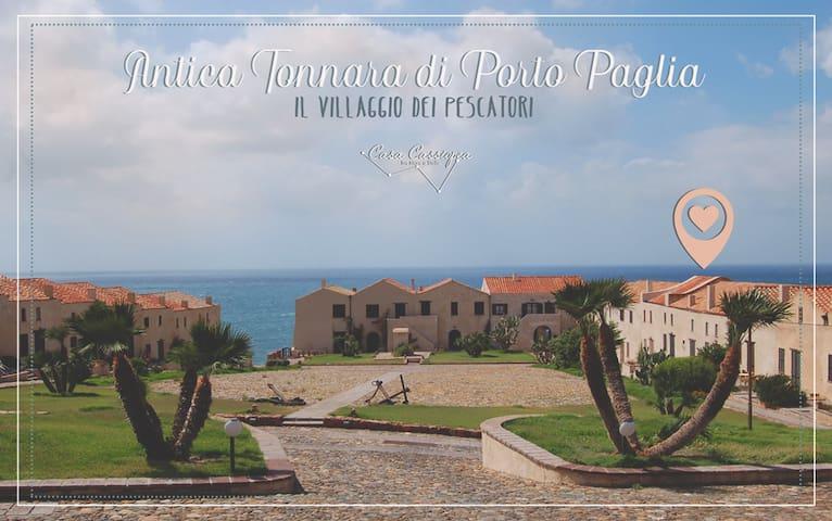 Casa Cassiopea • Antica Tonnara di Porto Paglia