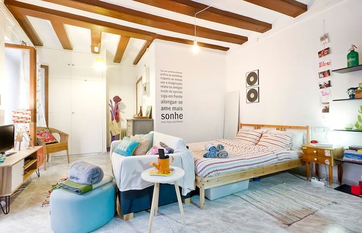 Amazing loft in the Gothic Quarter! - Barcelone - Loft