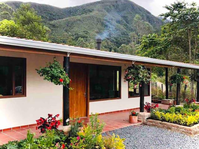 Casa Colibri, Beautiful Cottage, Arcabuco,  Boyaca
