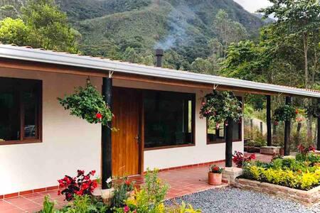 Casa Colibri, Beautiful Ecolodge, Arcabuco, Boyaca