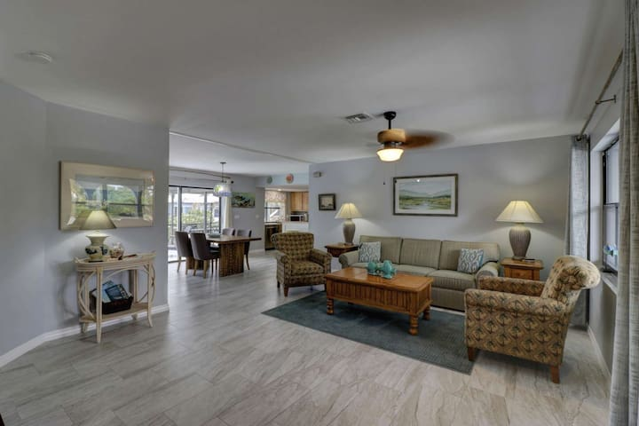 The home is inviting and comfortably furnished, providing a great gathering place for your family.