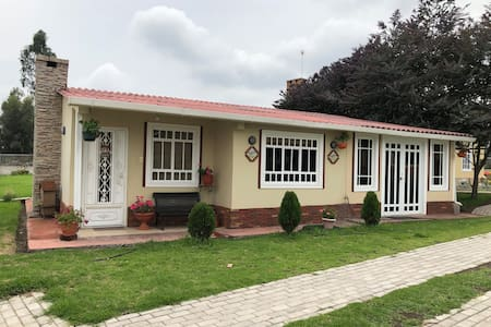 Casa de campo muy familiar