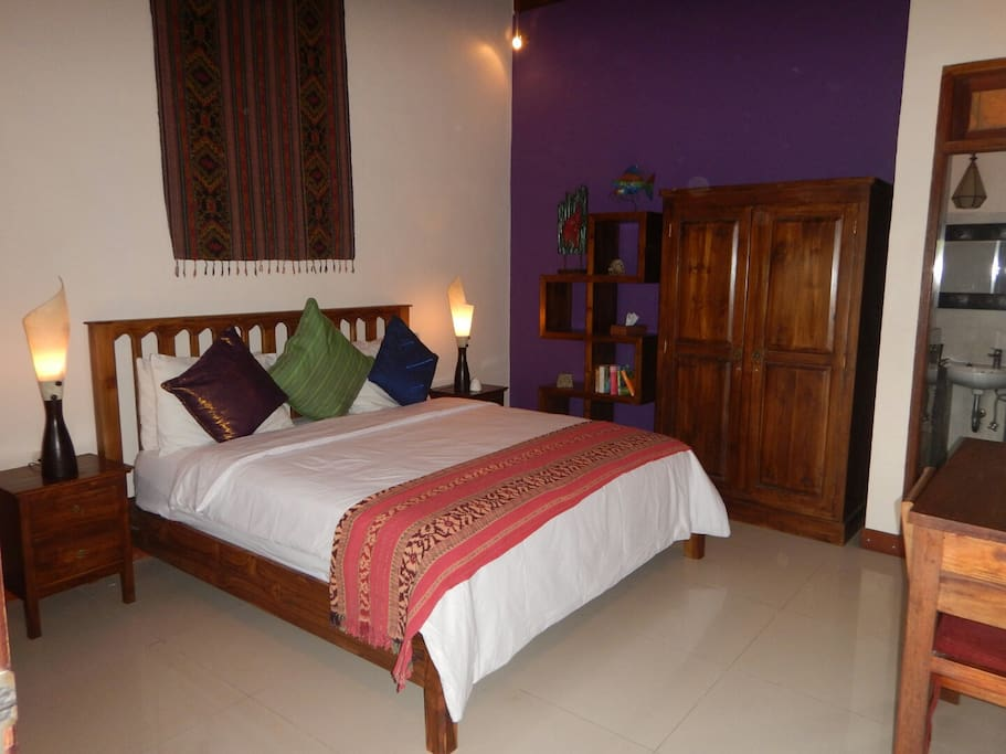 Rooms 1 and 2 feature granite floors,  teak furniture and a TV/DVD