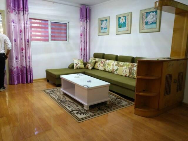 毗邻长隆家庭套房清新2居室,让你感受身在四海,如在家 - Guangzhou Shi - Selveierleilighet