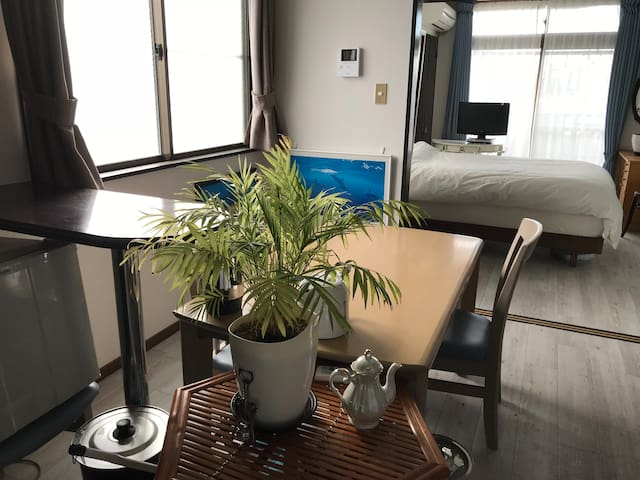 1 bedroom w/ many resources in sub'ban Utsunomiya