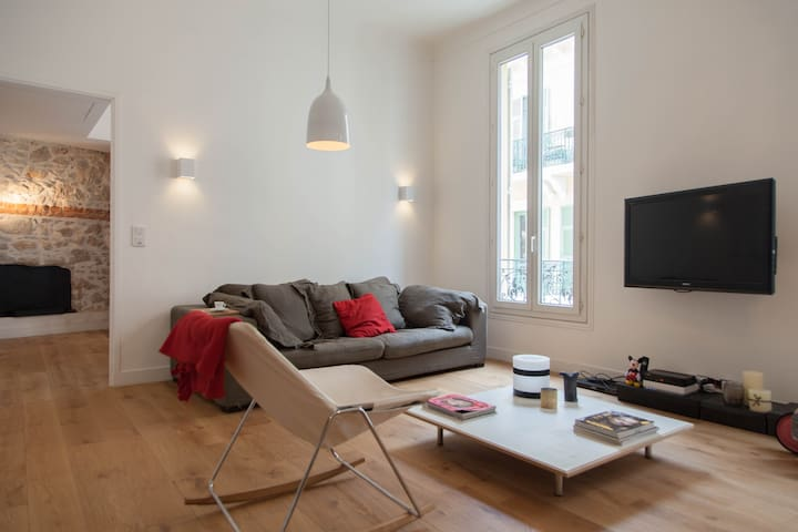Luxury apartment at the heart of Nice - Nice - Daire