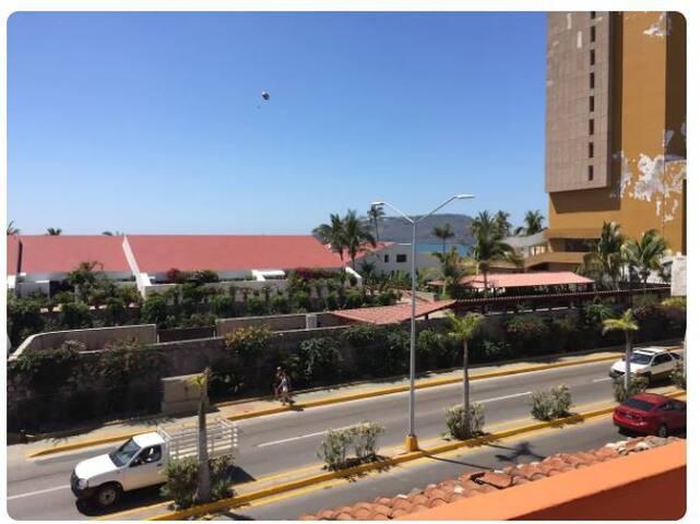 Departamento Mazatlan Zona Dorada Playa 2 cuadras