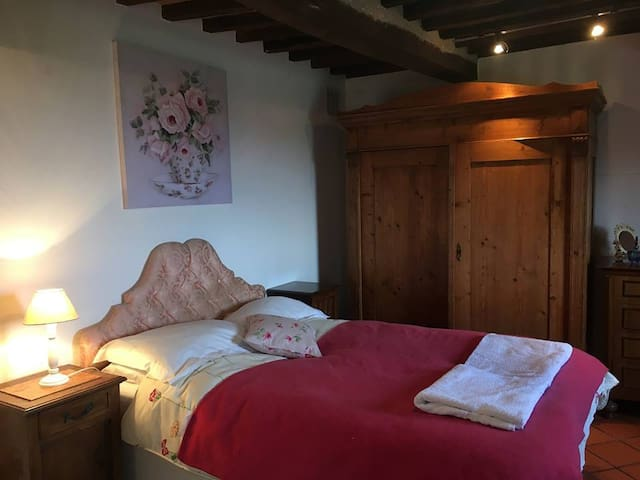 Garden apartment near Castel del Piano, Tuscany - Castel del Piano - Appartement