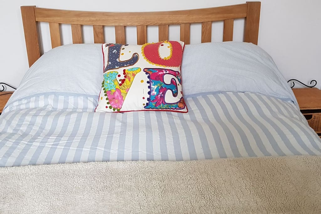 Comfortable, new, double bed