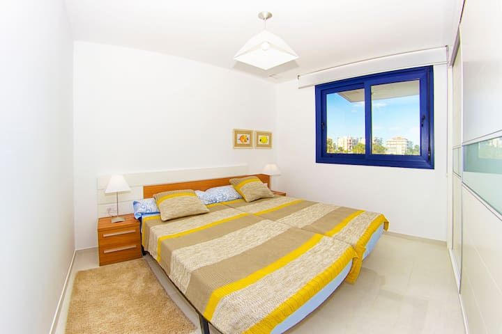 New lux apart on the beach incredible sea view - Torrevieja - Apartemen