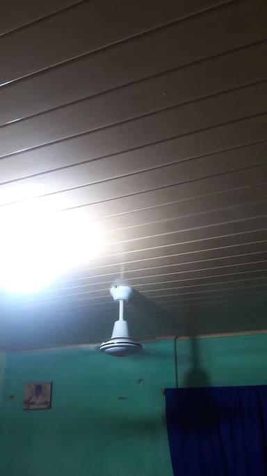 Acondicionado con ventiladores