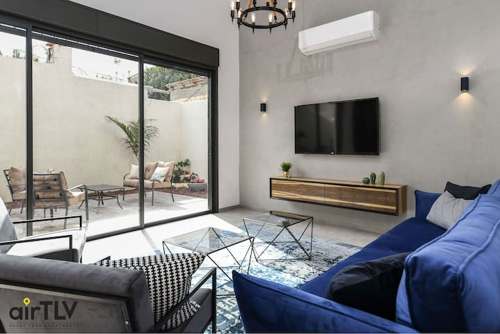 ❤️ AirTLV- Lovely Garden Apartment in Jaffa  ❤️