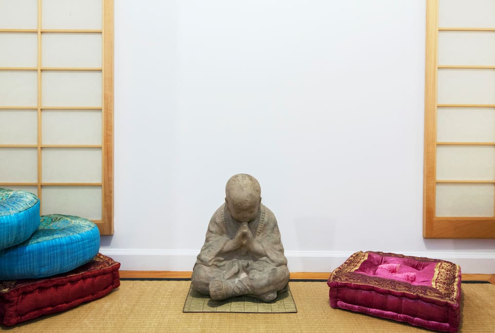 Meditation/yoga room.
