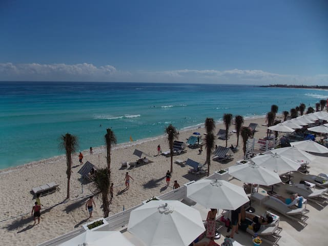 ESPECTACULAR DEPARTAMENTO VISTA MAR ZONA HOTELERA - Cancún - Apartemen